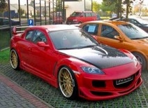 MAZDA RX-8 BODY KIT